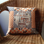 One Day in Paris Quilted Pillow Cover