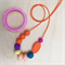 All Sorts - Silicone Teething Necklace & Bangle Set