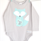 Custom Order for Hooked On Wool ~ Boys Long Sleeve Onesie ~ Mr Fox