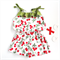 Play suit | cherry | size 3-4 | Summer All In One