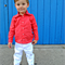 boys pants - white chino jeans