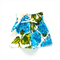 Stella Paper Bag shorts Size 1