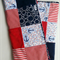 """Red&Navy anchor nautical""