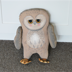 owl, primitive doll,