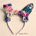 Tabatha bunny ears by Vintage Fairy