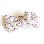 Baby - Toddler Size || Organic Cotton Headband || Watermelon Slices