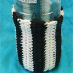 Bottle Cosy - Black and White