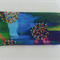 Soft Eyeglasses Case in designer fabric - blues, greens and yellow