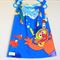 Girl Toddler Dress Sesame Street Pillowcase Blue Red Handmade Size 2