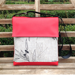Satchel - Red - Flowing Gum - Free Shipping