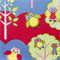 Kids Apron - boys & girls Busy Owl lined kitchen/craft/play apron - owls & trees