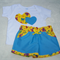 Shorts and tee set Size 18 months