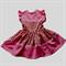Pretty Pink 2 tone little girls dress Size 3