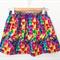 Betsy Skirt - Rainbow Geo -Bright - Retro - Girls