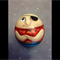 Hand painted rock- pirate