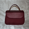 Mabel Vintage look Handbag in Red Look-a-like Leather