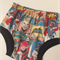 Superhero nappy cover