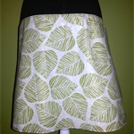 Skirt with Green Leaves & Bamboo Stretch Band
