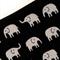 Mini Coin Purse with cute, tiny Elephants
