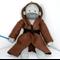 'Obi Wan' the Jedi Sock Monkey - MADE TO ORDER