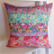 Liberty of London Cushion ~ Floral Pinks Teal ~ Home Decor