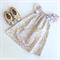 Flutter Dress - Lilac and Gold - Girl, Baby, Toddler, Newborn