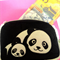 Panda cute coin, note purse