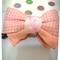 Excellent,tight, pretty bow hair clip