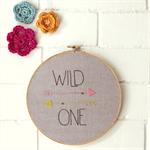 wild one | hoop art | baby nursery bedroom decor gift