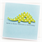 dino birthday card children  happy birthday green spotty dinosaur