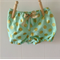 Gorgeous Mint with Gold Spots Set - Shorties + No 1 singlet + Headband
