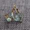 Delphine ~ Square Lever Back Earrings