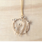 LARGE MATTE GOLD DANDELION PENDANT NECKLACE - FREE SHIPPING WORLDWIDE