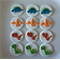 Dinosaur Theme Edible Cupcake Toppers