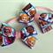 Bubble Guppies Hair Bow Elastic Ties 2 pack