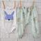 Little Bunny Harem Pants and Bodysuit - baby, winter, boy, onesie, easter