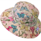 Toddler Hat ~ Pastel Butterflies ~ Wide Brim ~ 55cm