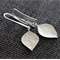 Sterling Silver Leaf  ~  Earrings