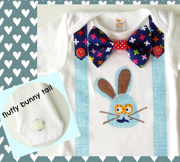 18f4d197f Easter Bunny Boys Onesie Baby Boy First Easter Bodysuit All Sizes and  Styles | Li'l Birdie Shop | madeit.com.au