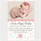 Printable Baby Girl Announcement