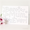 Colour in Mum card best ever colouring in happy birthday mother's day for her