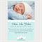 Printable Baby Boy Announcement
