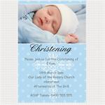 Printable Baby Boy Christening/Baptism/Naming Invitation