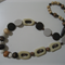 Wood & Resin bead necklace
