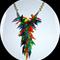 Glass chilli necklace