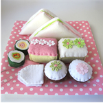 Felt Pretend Food Picnic Set