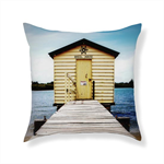 Boatshed from the 'Living' Cushion Range by Bessi Blu