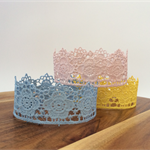 Tatiana Lace Crown