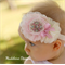 Baby headband 'ANNA' Can be made to fit all ages
