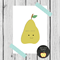 little pear print